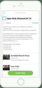 Customized App Online Vegan Fitness Trrainer